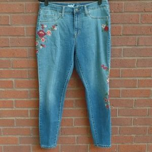 Mossimo High Rise Jegging Crop Jeans 10 30